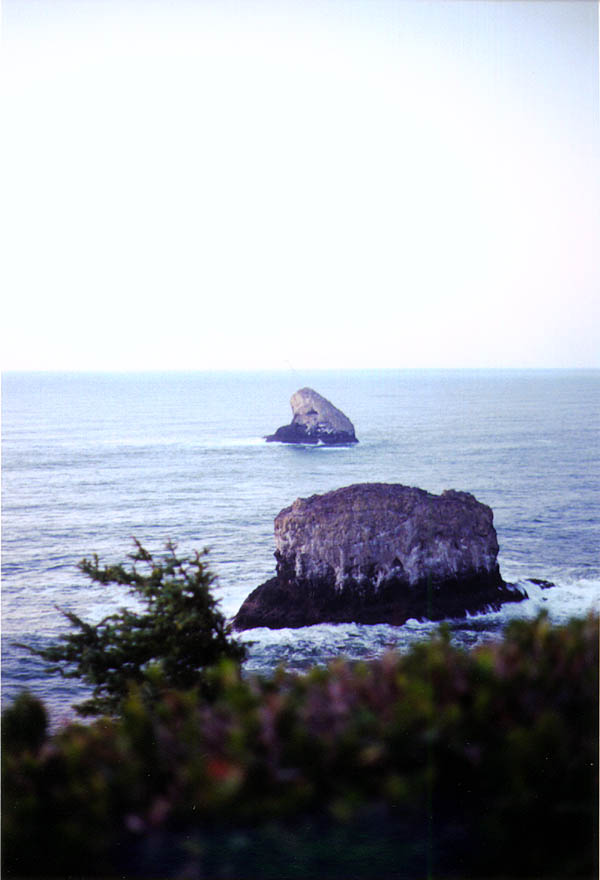 Oregon Coast 2000: Rock Islands