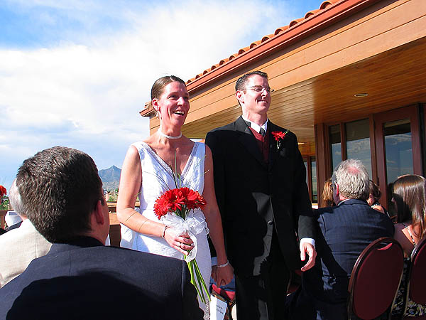ABQ 2004: Bride and Groom