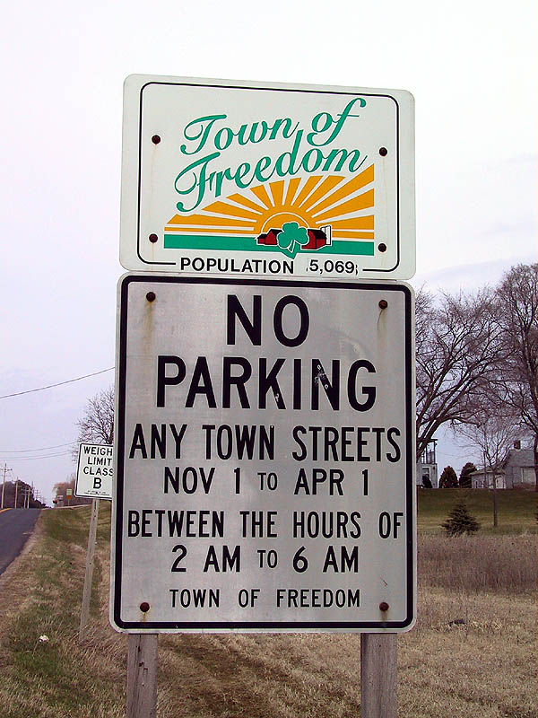 Appleton: No Free Parking
