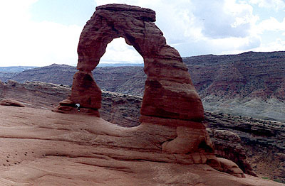 Moab 96: Delicate Arch and Curtis