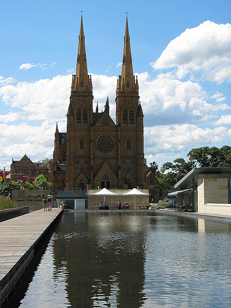 Australia 2004: Cook and Philip Park to St Marys Cathedral