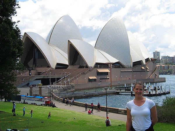 Australia 2004: Jane and Opera House