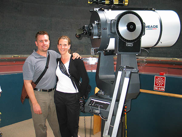 Australia 2004: Curtis Jane and Telescope
