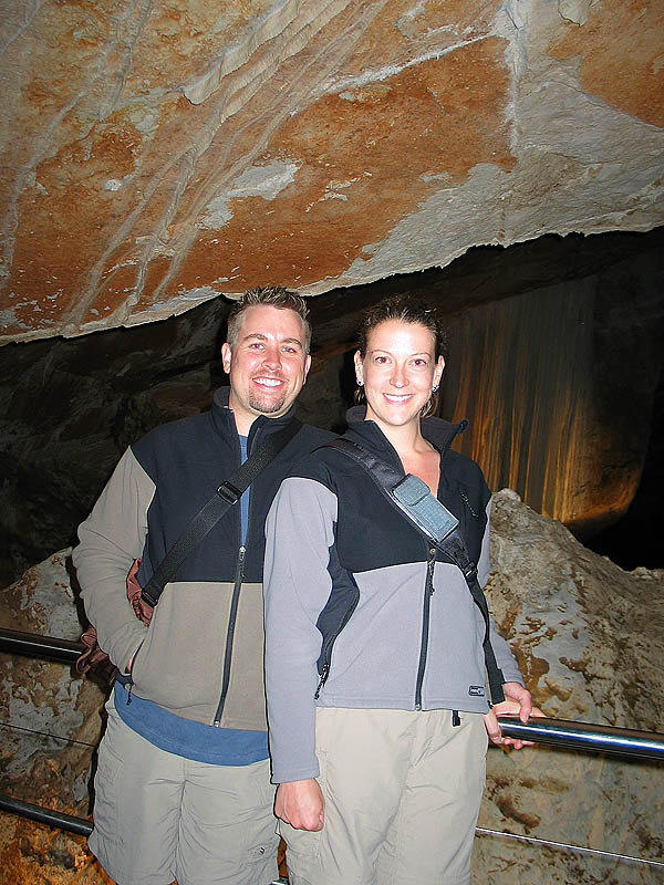 Australia 2004: Curtis Jane and Cave Formations