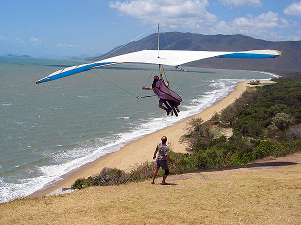 Australia 2004: Hang Gliding at Rex Lookout