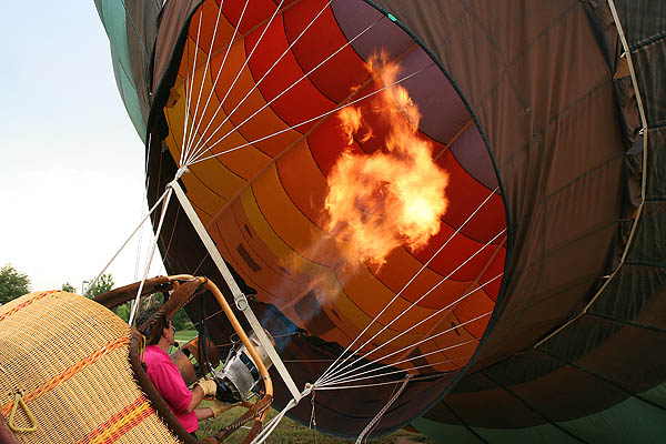 Ballooning 2005: Inflation Burn
