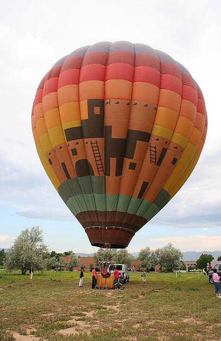 Ballooning 2005: Our Balloon Inflated