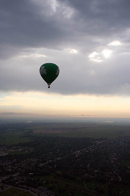 Ballooning 2005: Balloon in Flight