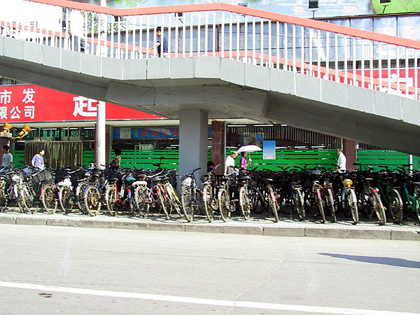 Beijing 2001: Bicycle Parking