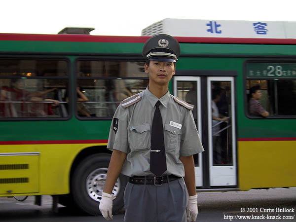 Beijing 2001: Traffic Officer