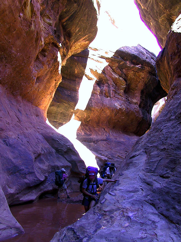 Canyoneering 2002: 31: Avoiding Water