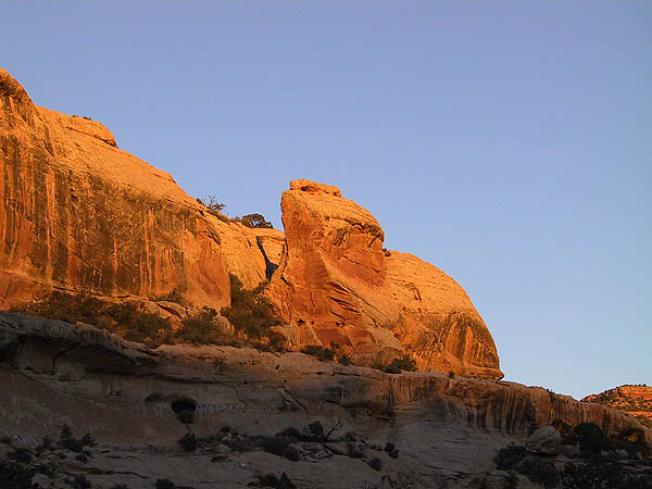 Canyoneering 2002: 40: Camp 3 Sunset
