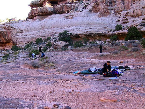 Canyoneering 2002: 54: Camp 4