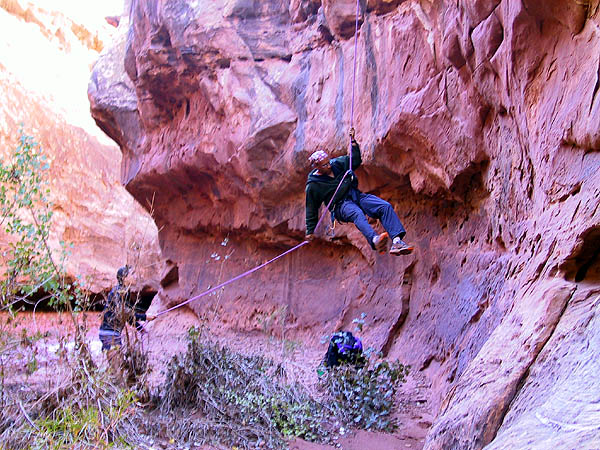 Canyoneering 2002: 60: Abba Rappeling