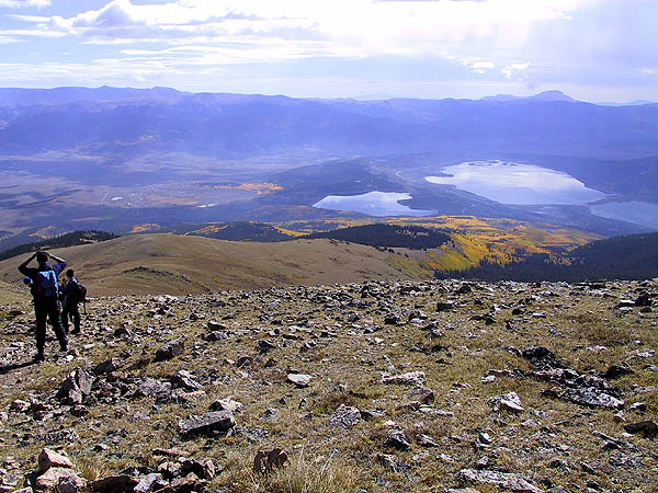 Mt Elbert 2001: Twin Lakes 03