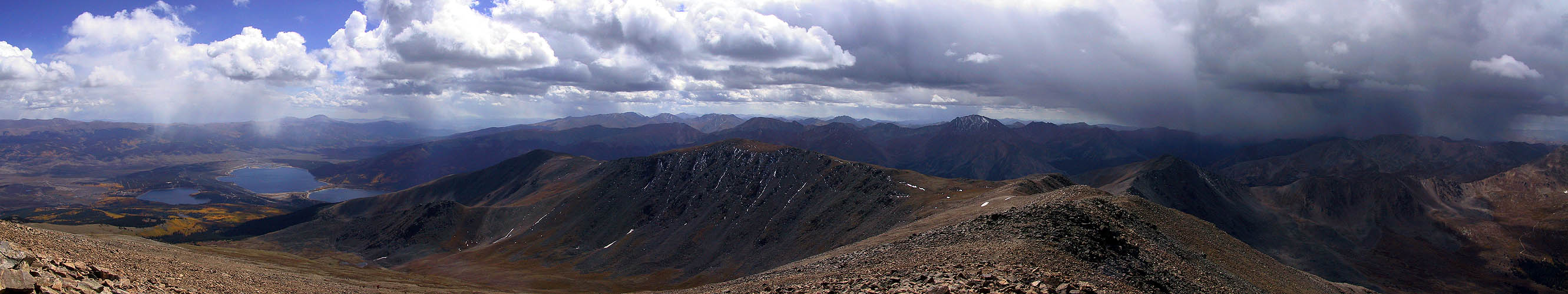 Mt Elbert 2001: Summit Panoramic South