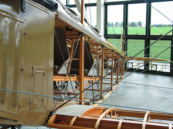 Spruce Goose 2005: Plane Frame Structure