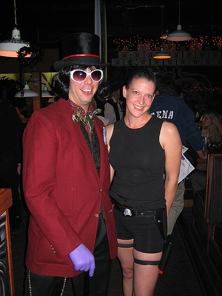 Halloween 2005: Willy Wonka and Lara Croft