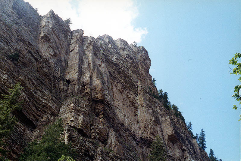 Hanging Lake: Canyon Wall