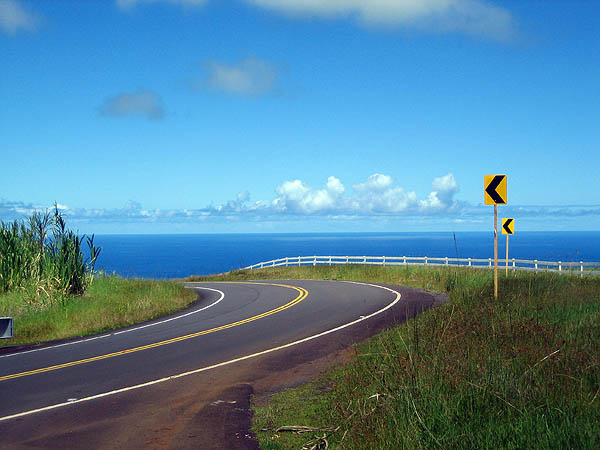 Hawaii 2006: Road and the Ocean