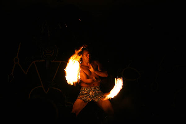 Hawaii 2006: Luau Fire Dancer 2
