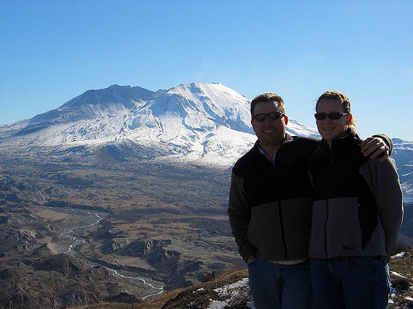 Mt. St. Helens 2005: The Mountain Curtis and Jane