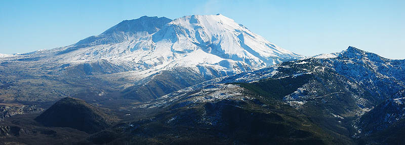 Mt. St. Helens 2005: The Mountain Pano 01