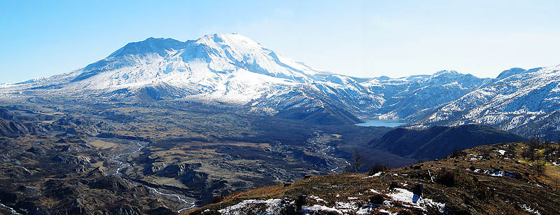 Mt. St. Helens 2005: The Mountain Pano 02