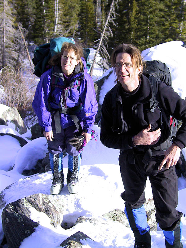 Lincoln Falls 2002: Greg and Ellen
