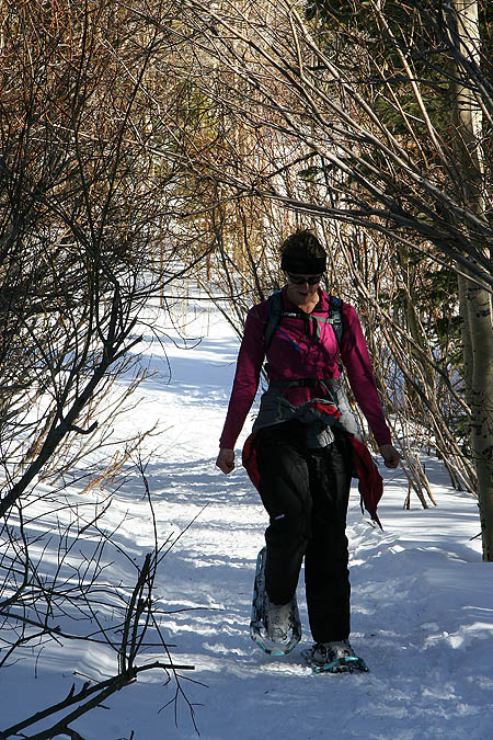 Snowshoe Lost Lake 2005: Jane