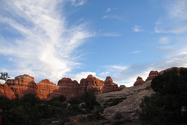 Moab 2005: Needles District: Sunset Scenery 03