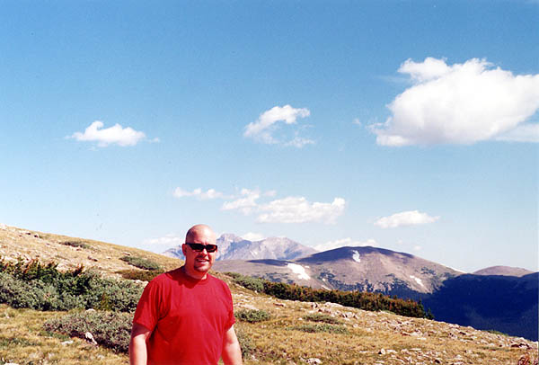 Mount Audubon 2001: Curtis and Longs Peak