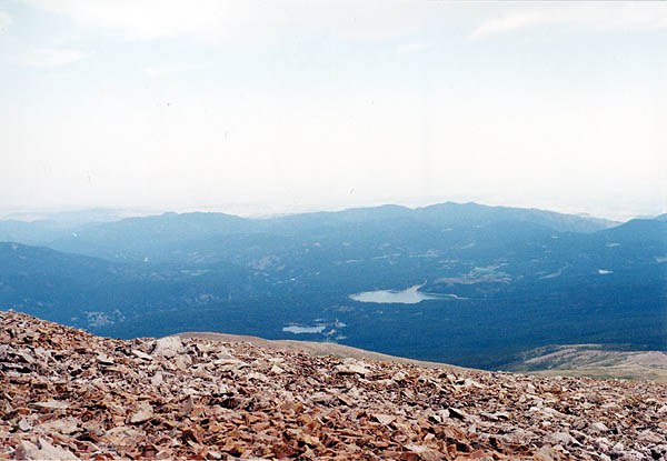 Mount Audubon 2001: View East