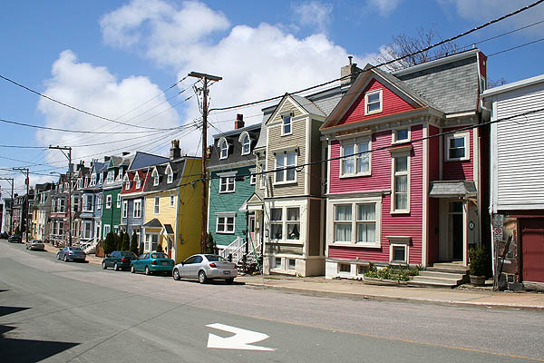 Newfoundland 2005 Colorful Houses