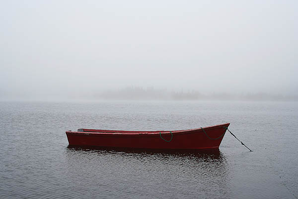 Newfoundland 2005: Red Rowboat