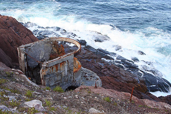 Newfoundland 2005: Ft. Amherst Gun Emplacement
