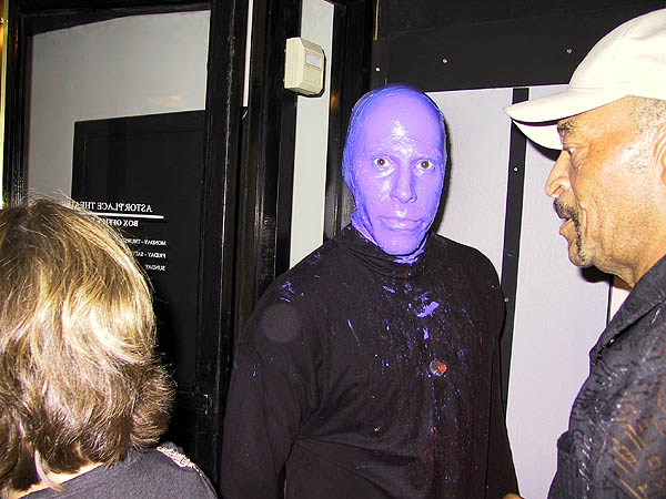 NYC 2002: The Blue Man