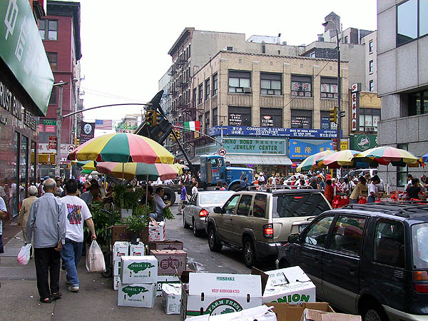 NYC 2002: China Town to Little Italy