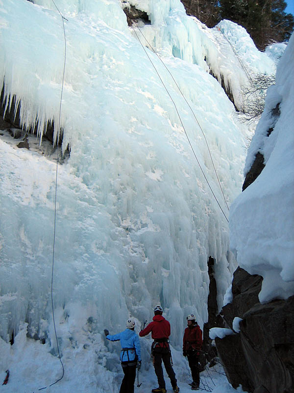 Ouray 2007: Ice Instruction