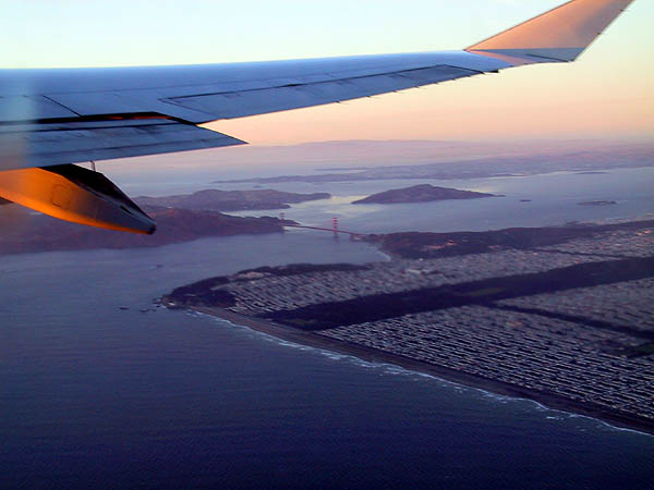 SFO: Golden Gate Bridge