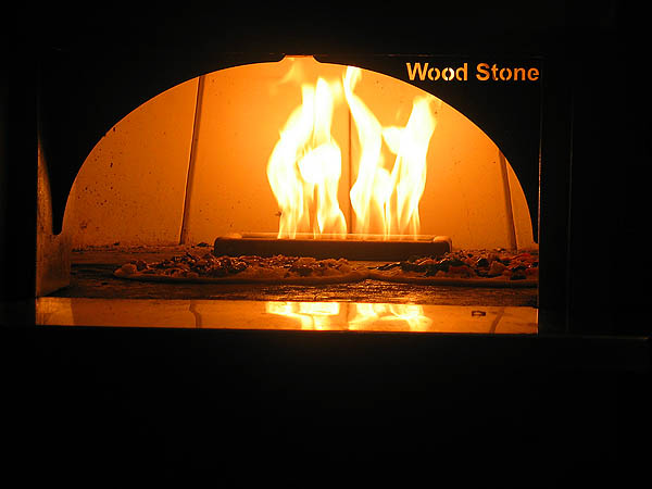 CD Recording Party 2004: Wood Fired Pizza 01