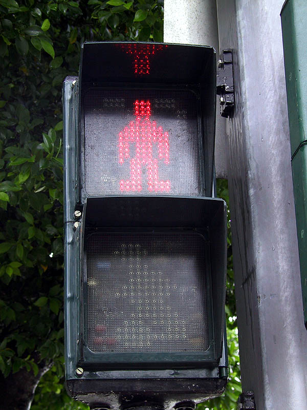 Taipei 2001: Do Not Walk Signal