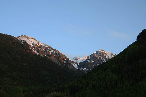 Telluride 2006: Sunset on the Mountains