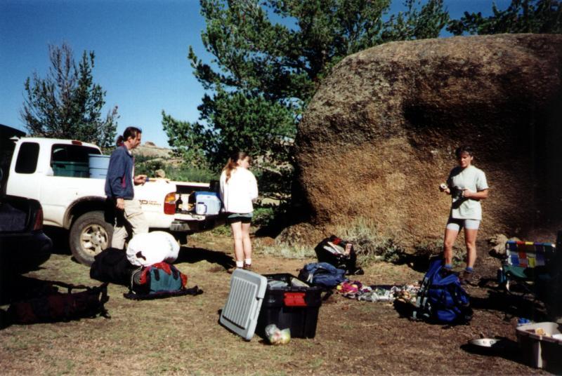 Camp at Vedauwoo