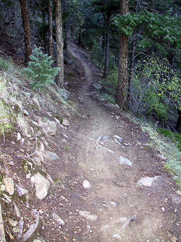 White Ranch: Trail Up