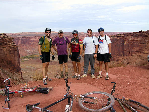 White Rim 2001: Day 4: Riders at the End