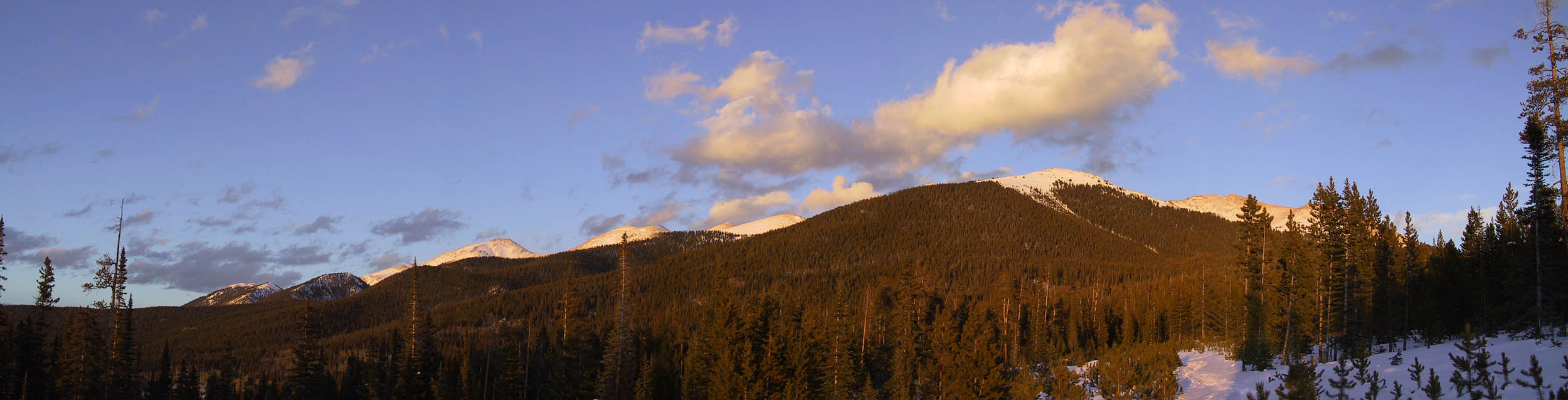 Yurt Trip 2002: Sunset Panoramic